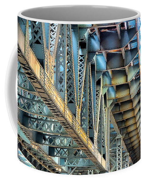 Bridge Coffee Mug featuring the photograph Rooms With A View by Scott Wyatt