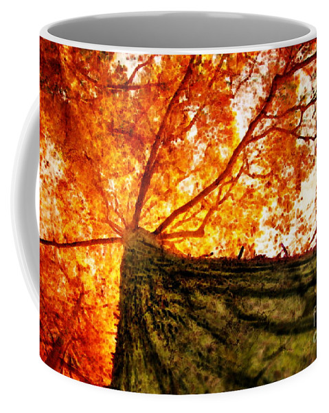 Roots Coffee Mug featuring the photograph Roots To Branches IIi by Floyd Menezes