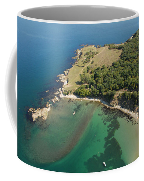 Ropotamo River Coffee Mug featuring the photograph Ropotamo by Tatyana Baykusheva