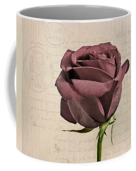 Rose Coffee Mug featuring the photograph Rose En Variation - S02c3t3a by Variance Collections