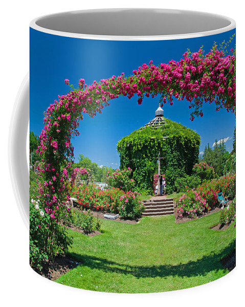 Rose Coffee Mug featuring the photograph Rose Garden by David Freuthal