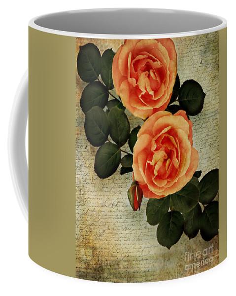 Nag000022 Coffee Mug featuring the photograph Rose Tinted Memories by Edmund Nagele