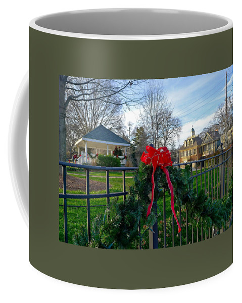 Roswell Coffee Mug featuring the photograph Roswell Christmas by Denise Mazzocco