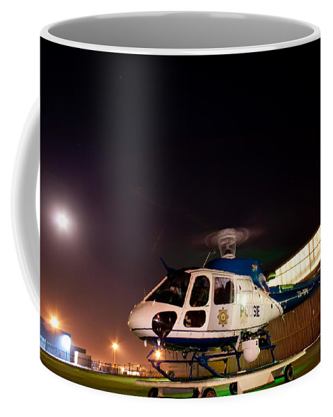 Eurocopter As350 B3 Ecureuil (squirrel) Coffee Mug featuring the photograph Rotor by Paul Job