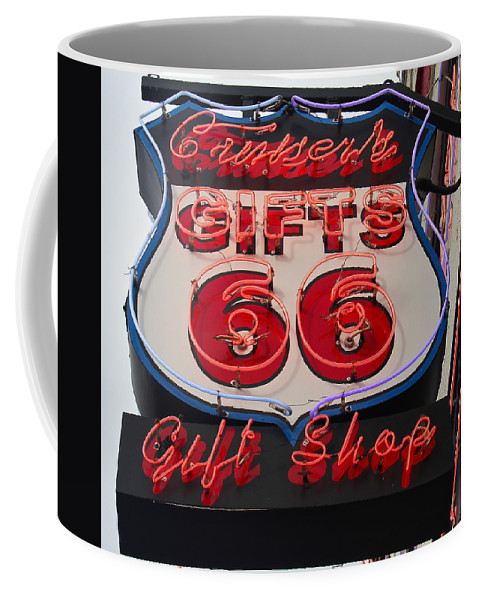 Route 66 Coffee Mug featuring the photograph Route 66 Gifts by Denise Mazzocco