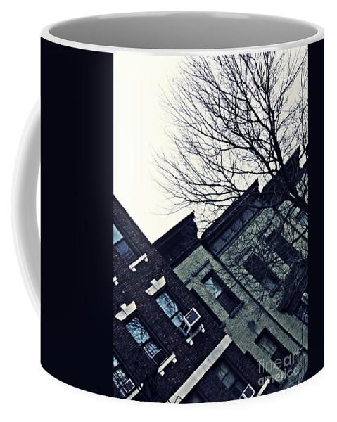 Building Coffee Mug featuring the photograph Row Houses In Washington Heights by Sarah Loft