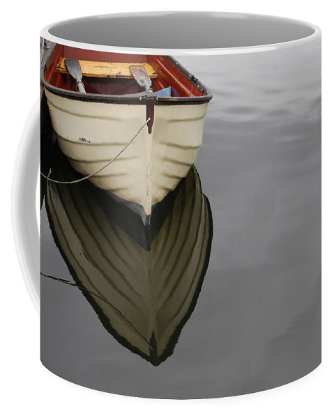 Rowboat Coffee Mug featuring the photograph Rowboat by Jani Freimann