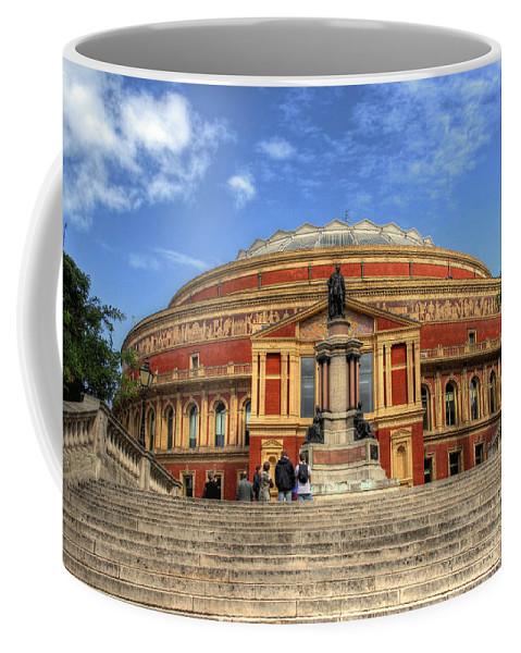 Royal Albert Hall Coffee Mug featuring the photograph Royal Albert Hall by Lee Nichols