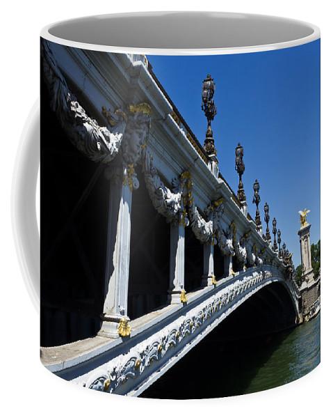 Paris Coffee Mug featuring the photograph Royal Bridge by Chris Whittle