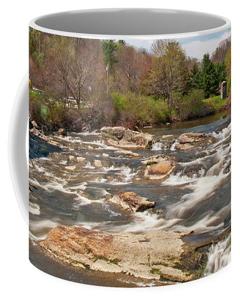 Waterfalls Coffee Mug featuring the photograph Royal River 0161 by Guy Whiteley