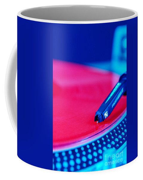 Turntables Coffee Mug featuring the photograph Royall Groove In Vertical Format by Floyd Menezes
