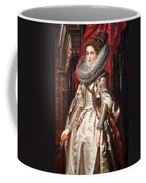 Marchesa Coffee Mug featuring the photograph Rubens' Marchesa Brigida Spinola Doria by Cora Wandel