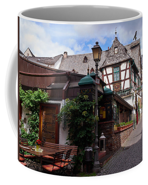 Alankomaat Coffee Mug featuring the photograph Rudesheim by Jouko Lehto