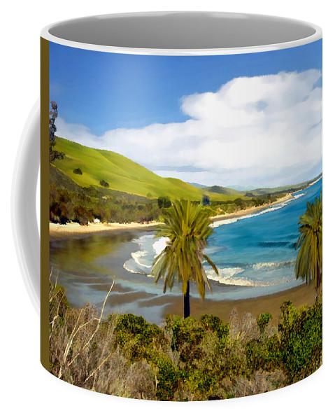 Ocean Coffee Mug featuring the photograph Rufugio by Kurt Van Wagner
