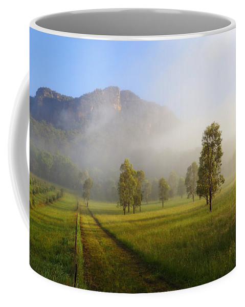 Wollemi National Park Coffee Mug featuring the photograph Capertee Valley 2am-007257 by Andrew McInnes
