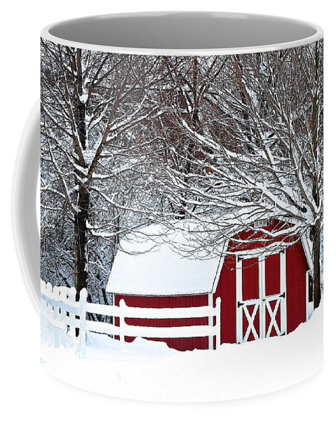 Farm Coffee Mug featuring the photograph Rural Living by Frozen in Time Fine Art Photography