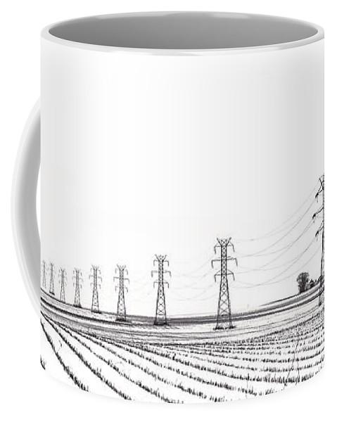 Power Coffee Mug featuring the photograph Rural Power by Steve Gadomski