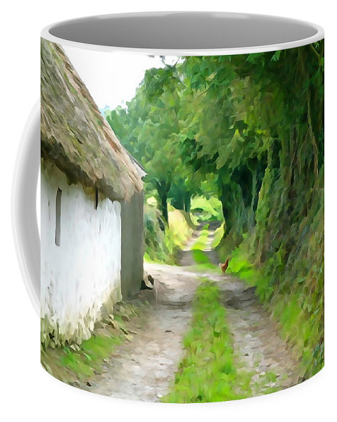 Path Coffee Mug featuring the photograph Rural Road by Charlie and Norma Brock