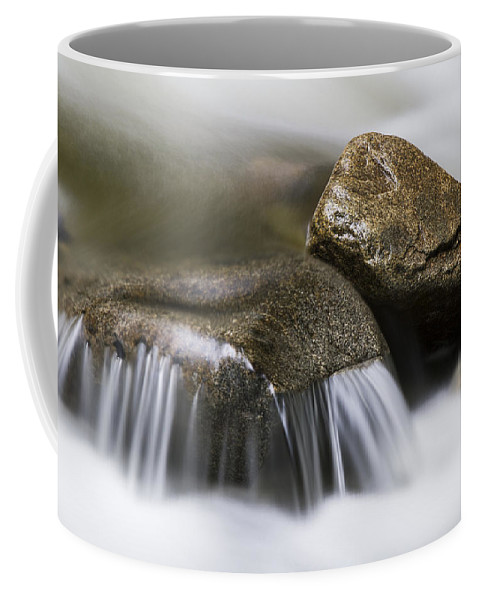 Background Coffee Mug featuring the photograph Rushing Peace by Windy Corduroy