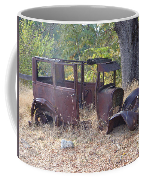 Ford Coffee Mug featuring the photograph Rust In Full Bloom by Mary Deal