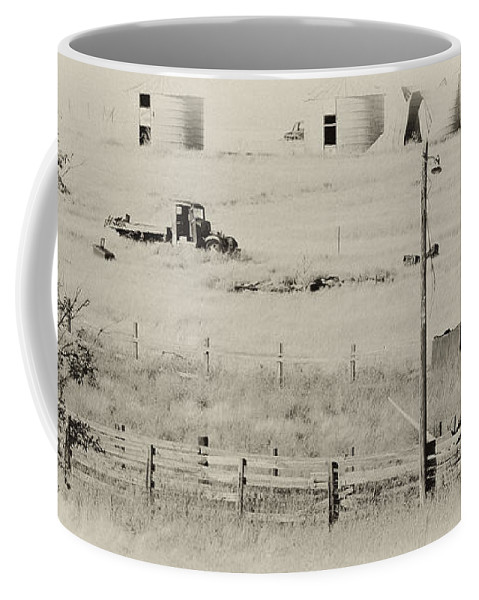 Old Trucks Coffee Mug featuring the photograph Rust Wind And Time Are Not Kind by Wilma Birdwell