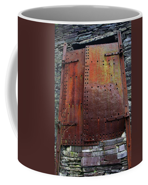 Rust Coffee Mug featuring the photograph Rusted by Mo Barton