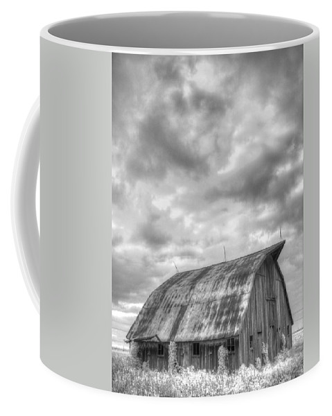 Barn Coffee Mug featuring the photograph Rustic Barn by Jane Linders