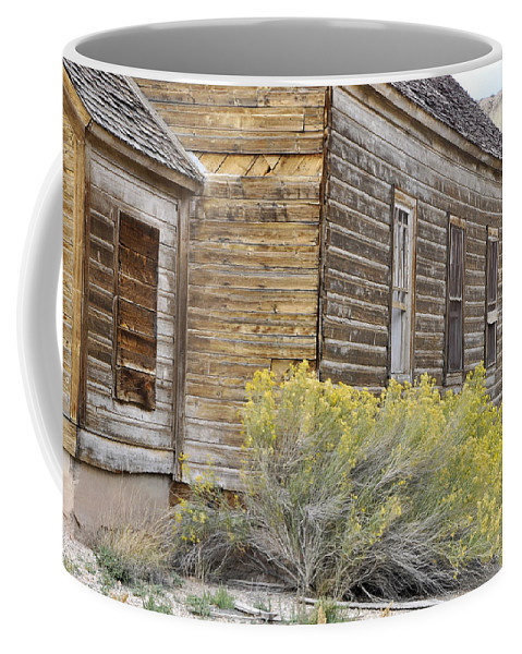 Canvas Prints Coffee Mug featuring the photograph Rustic Building by Wendy Elliott