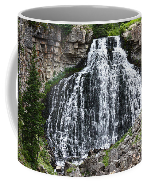 Rustic Falls Coffee Mug featuring the photograph Rustic Falls by Shane Bechler