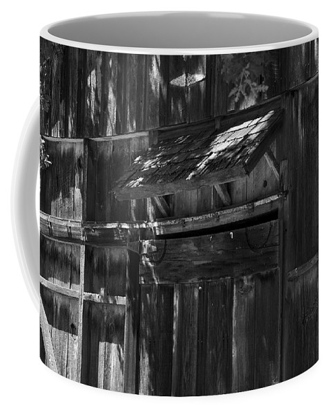 Rustic Coffee Mug featuring the photograph Rustic Shed 3 by Richard J Cassato