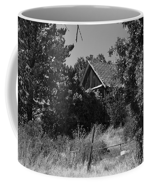 Rustic Coffee Mug featuring the photograph Rustic Shed 7 by Richard J Cassato