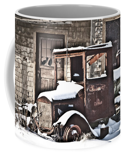 Truck Coffee Mug featuring the photograph Rusty Truck by Alana Ranney
