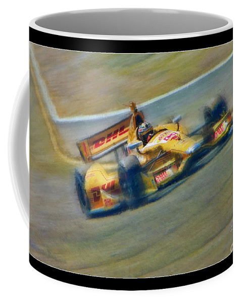 Ryan Hunter-reay Coffee Mug featuring the photograph Ryan Hunter-reay by Blake Richards
