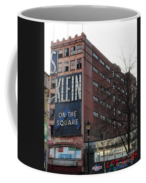 Paul Ward Coffee Mug featuring the photograph S Klien On The Square by Paul Ward