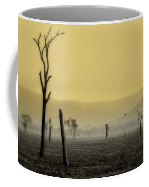 Landscape Coffee Mug featuring the photograph S P I R I T Land by Holly Kempe