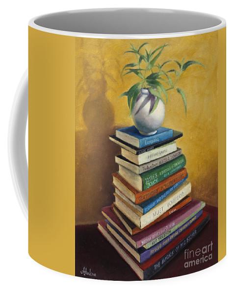 Still Life Coffee Mug featuring the painting Sage by Natalia Astankina
