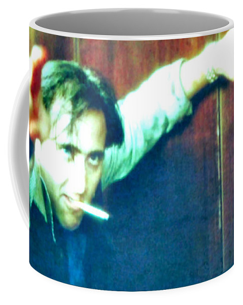 Wild At Heart Coffee Mug featuring the painting Sailor Ripley by Luis Ludzska
