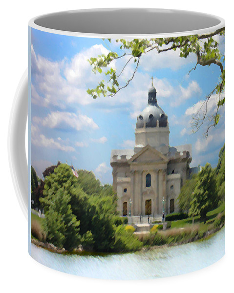 Landscape Coffee Mug featuring the digital art Saint Catharines by Steve Karol