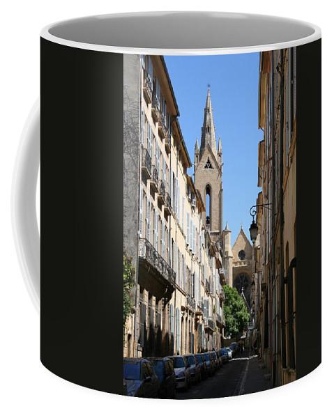Church Coffee Mug featuring the photograph Saint Jean De Malte - Aix En Provence by Christiane Schulze Art And Photography