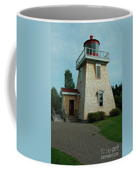 Saint Coffee Mug featuring the photograph Saint Martin's Lighthouse by Kathleen Struckle