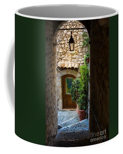 Alpes-maritimes Coffee Mug featuring the photograph Saint Paul Passageway by Inge Johnsson