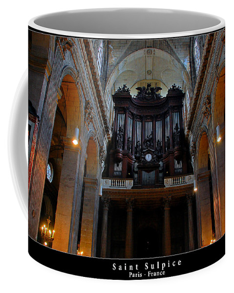 Architecture Coffee Mug featuring the photograph Saint Sulpice by Dany Lison