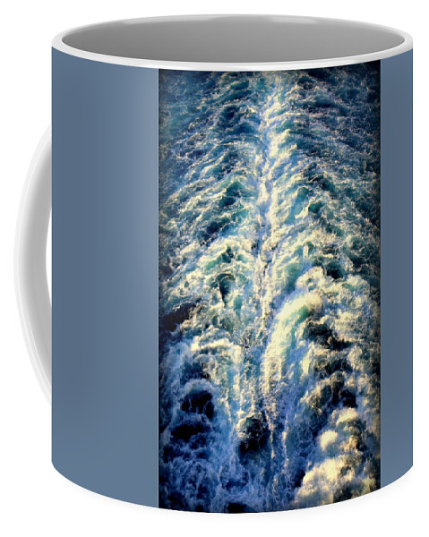 Salt Life Coffee Mug featuring the photograph Salt Life by Karen Wiles