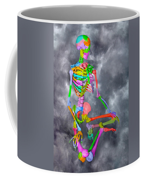 Doctor's Coffee Mug featuring the digital art Sam Shows His Colors by Betsy Knapp