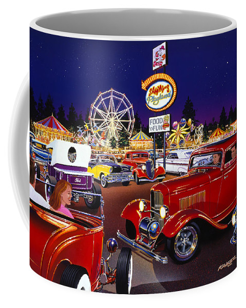 America Coffee Mug featuring the photograph Sammy's Playland by Bruce Kaiser