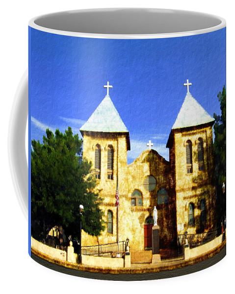San Albino Church Coffee Mug featuring the photograph San Albino Church by Kurt Van Wagner