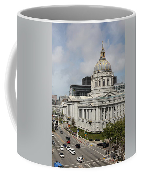 San Francisco Coffee Mug featuring the photograph San Francisco City Hall 5d22513 by Wingsdomain Art and Photography