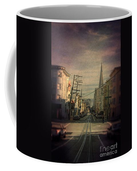 San Francisco Coffee Mug featuring the photograph San Francisco Street by Jill Battaglia