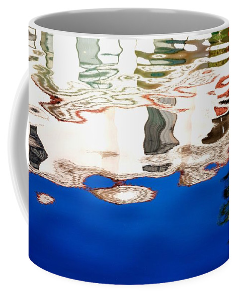 Reflection Coffee Mug featuring the photograph San Lagos Reflection 29424 by Jerry Sodorff