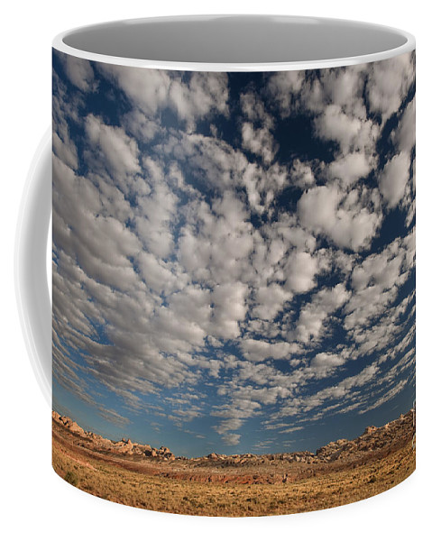 North America Coffee Mug featuring the photograph San Rafael Swell Near Goblin Valley Utah by Dave Welling